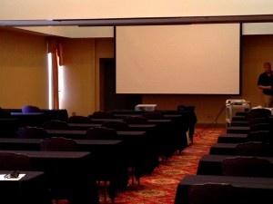 AV rentals for seminars