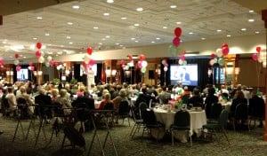 Banquet dinner AV rentals