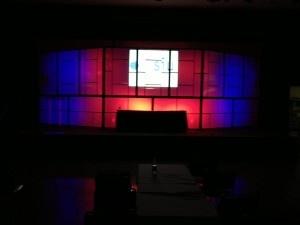 NC sales meeting audiovisual