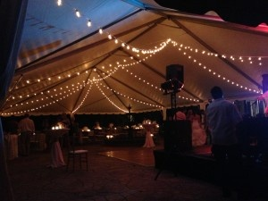 NC party lighting rentals
