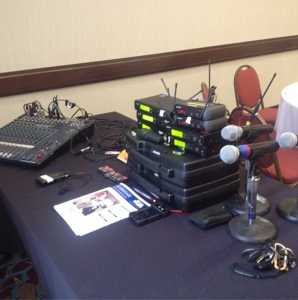 Raleigh NC Conference Audio Visual by AV Connections, Inc.