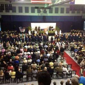 graduation AV NC