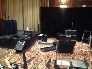 Conference audiovisual lighting Atlanta by AV Connections