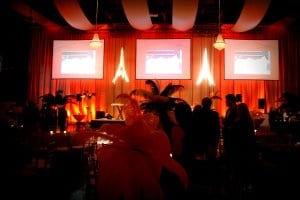 gala lighting and rentals by AV Connections Inc.