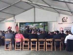 groundbreaking ceremony AV rentals