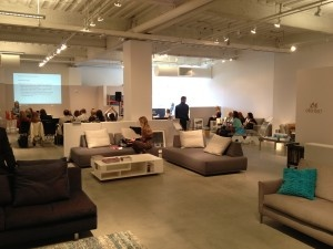 Audio visual rentals at High Point Market by AV Connections