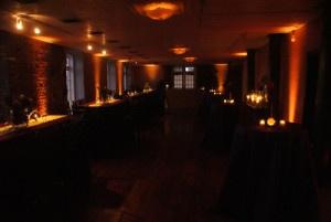 Holiday party lighting rentals NC VA