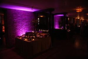 Company holiday party AV lighting rentals