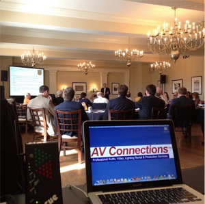 Meeting audio visual rentals winston salem by AV Connections Inc
